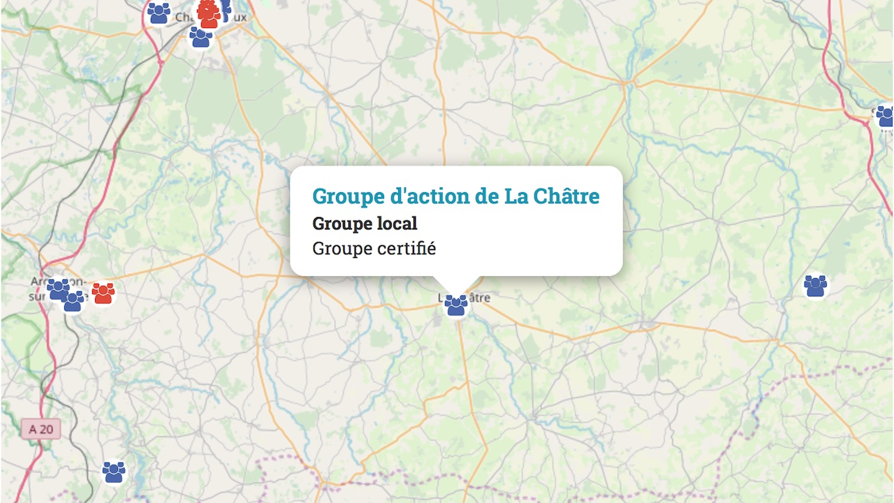 groupe action la chatre